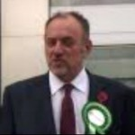 Peter Reynolds standing in the Corby by-election