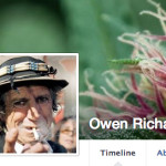 Fake Facebook profile suspected to be Peter Reynolds.