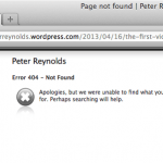Peter Reynolds removes blog claiming he has won defamation case against Dr Gary Potter is removed from the web.
