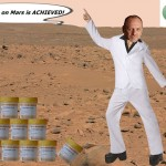 Peter Reynolds legalises medical cannabis on Mars using Bitcoins and cocaine.