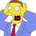 Even Lionel Hutz wouldn't represent Peter Reynolds, leader of CLEAR, Cannabis Law Reform.